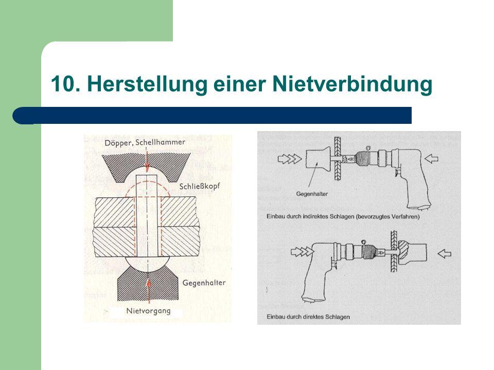 10. Herstellung einer Nietverbindung