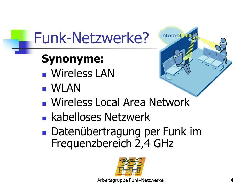 Arbeitsgruppe Funk-Netzwerke