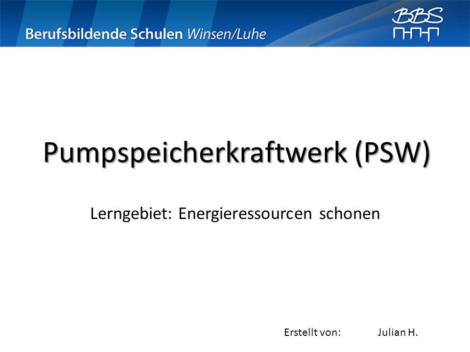 Pumpspeicherkraftwerk (PSW)