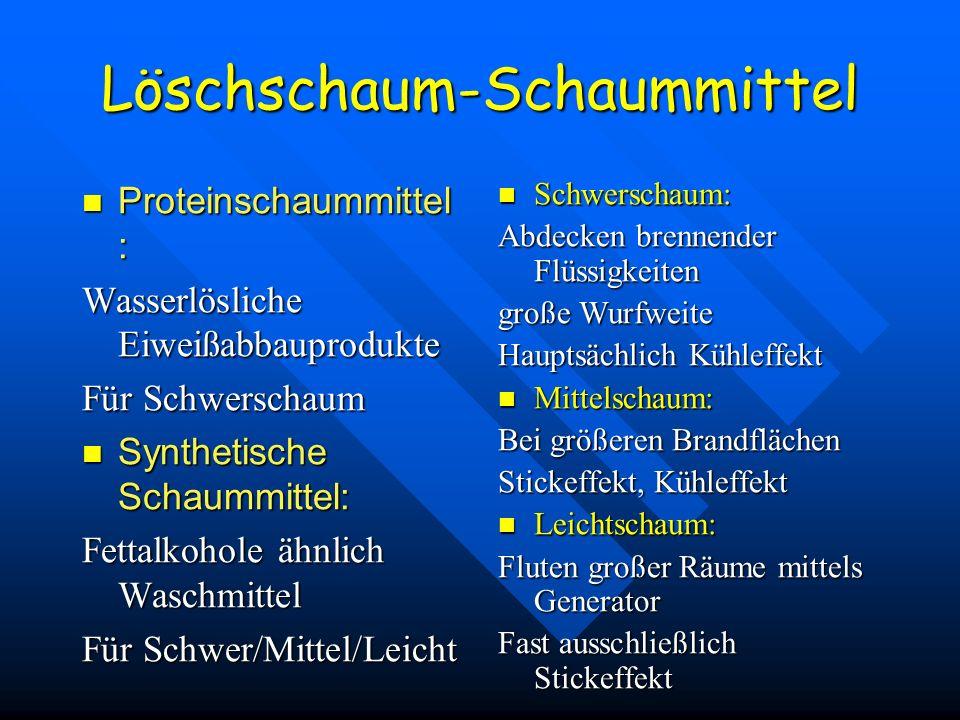 Löschschaum-Schaummittel