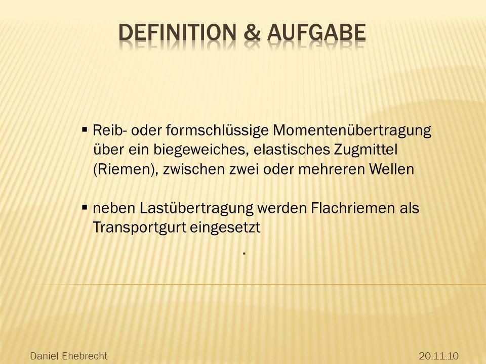 Definition & Aufgabe . Reib- oder formschlüssige Momentenübertragung