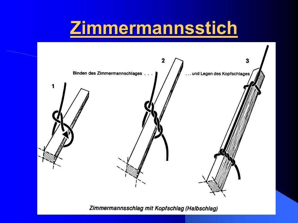 Zimmermannsstich