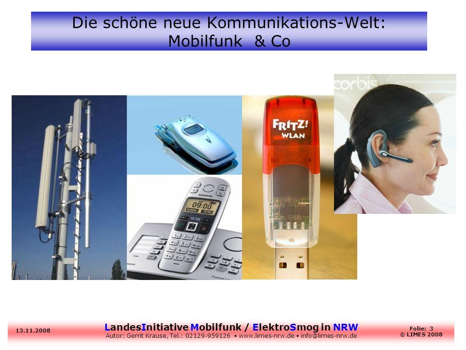 Die schöne neue Kommunikations-Welt: Mobilfunk & Co