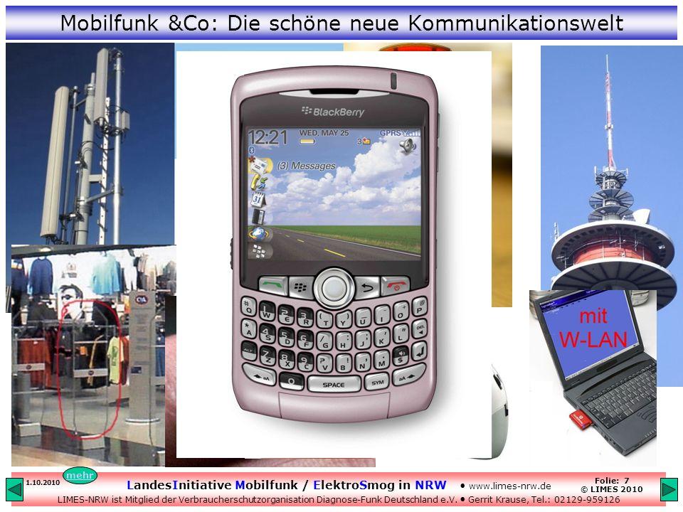 Mobilfunk &Co: Die schöne neue Kommunikationswelt