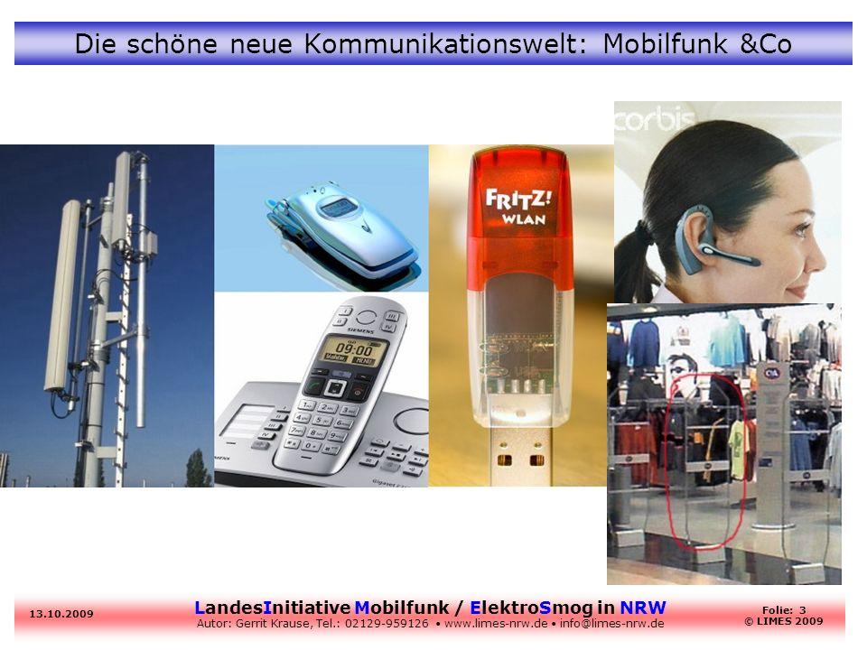 Die schöne neue Kommunikationswelt: Mobilfunk &Co