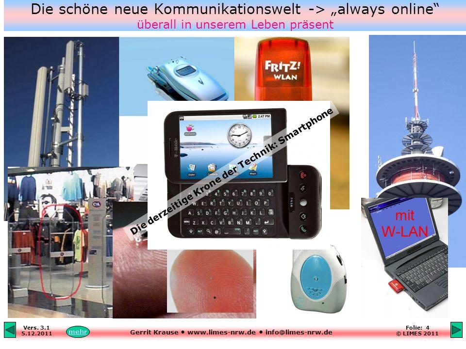 """Die schöne neue Kommunikationswelt -> """"always online überall in unserem Leben präsent"""