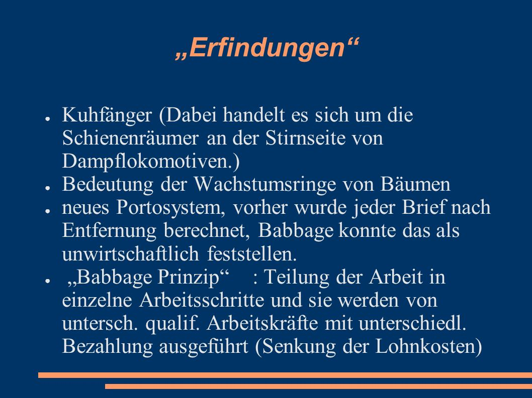 """""""Erfindungen Kuhfänger (Dabei handelt es sich um die Schienenräumer an der Stirnseite von Dampflokomotiven.)"""