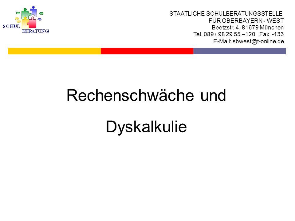 Standardisierte Testverfahren zur Diagnostik von Legasthenie und Lese-Rechtschreibschwäche