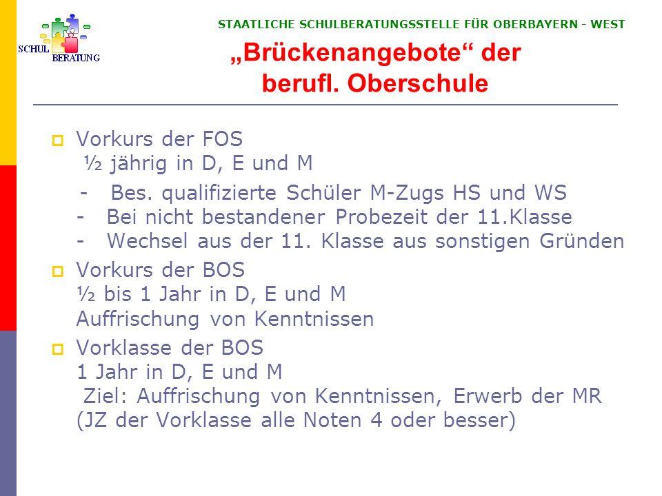 Abiturprüfung für andere Bewerber § 95 Abs. 2
