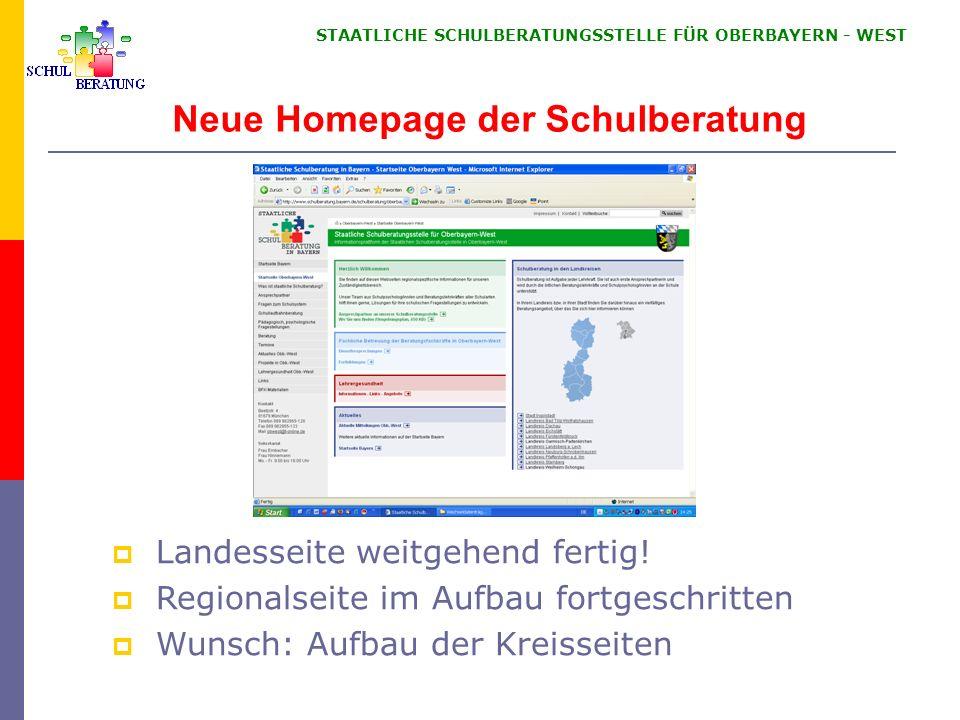 Informationen für das Schuljahr 2008/2009