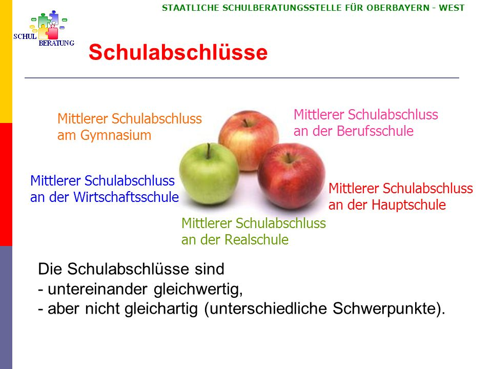 Ziele der Weiterentwicklung der Übertrittsphase in Bayern