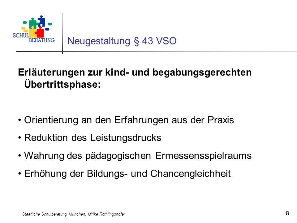 Staatliche Schulberatung München, Ulrike Röthlingshöfer