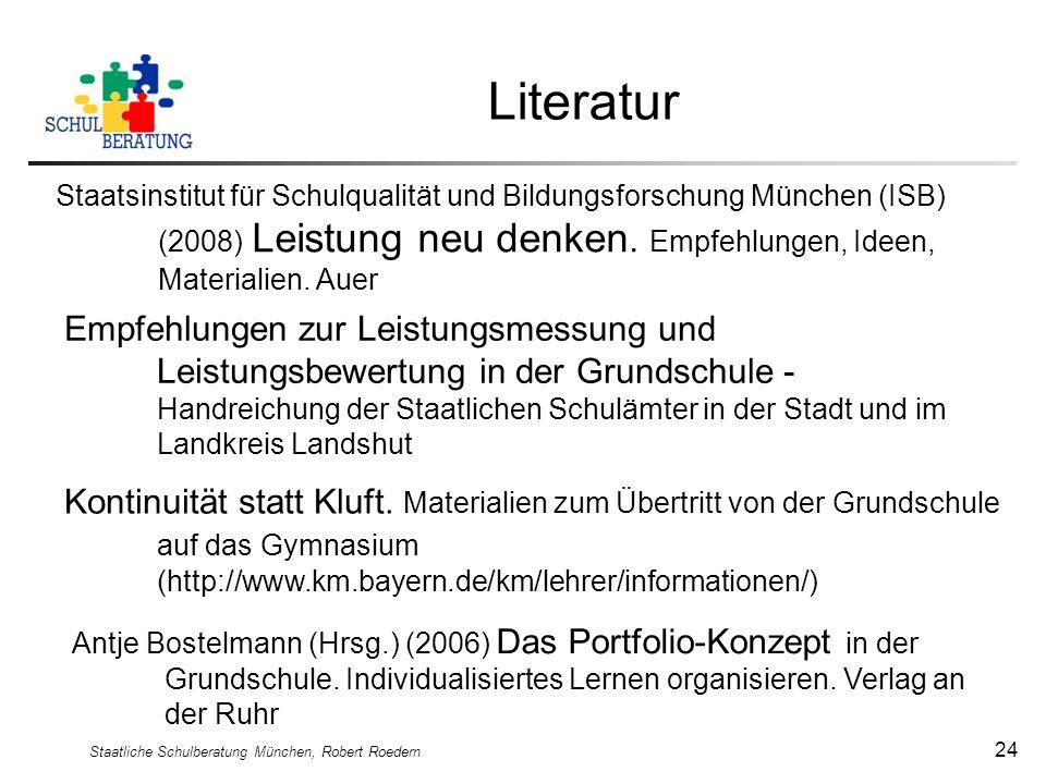 Staatliche Schulberatung München, Robert Roedern