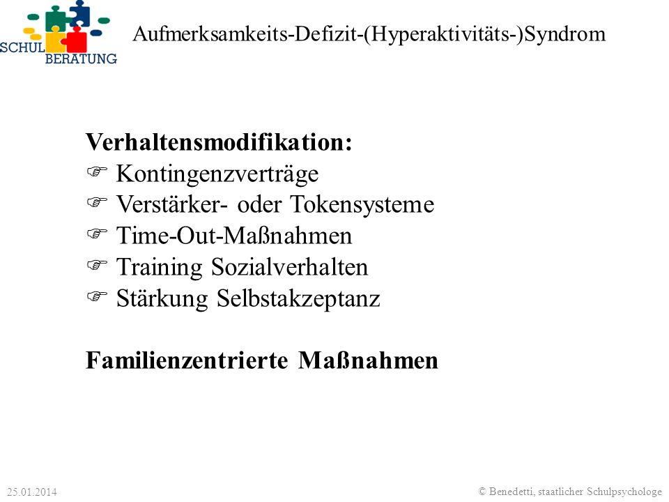 Verhaltensmodifikation: Kontingenzverträge