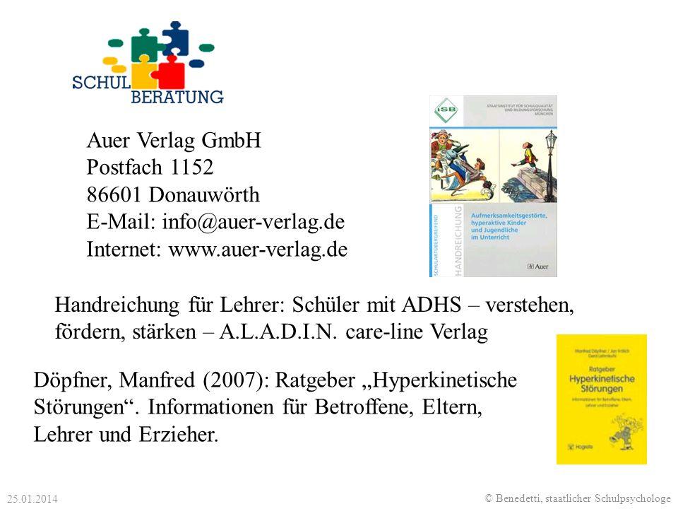 """Döpfner, Manfred (2007): Ratgeber """"Hyperkinetische"""