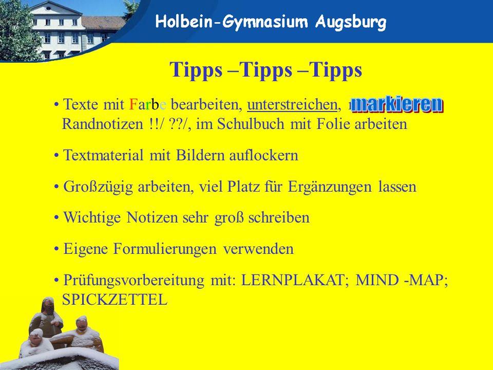 markieren Tipps –Tipps –Tipps
