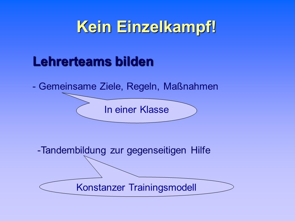 Konstanzer Trainingsmodell