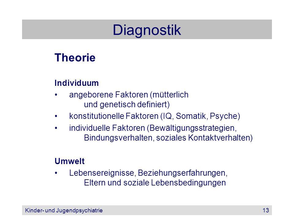 Diagnostik Theorie Individuum