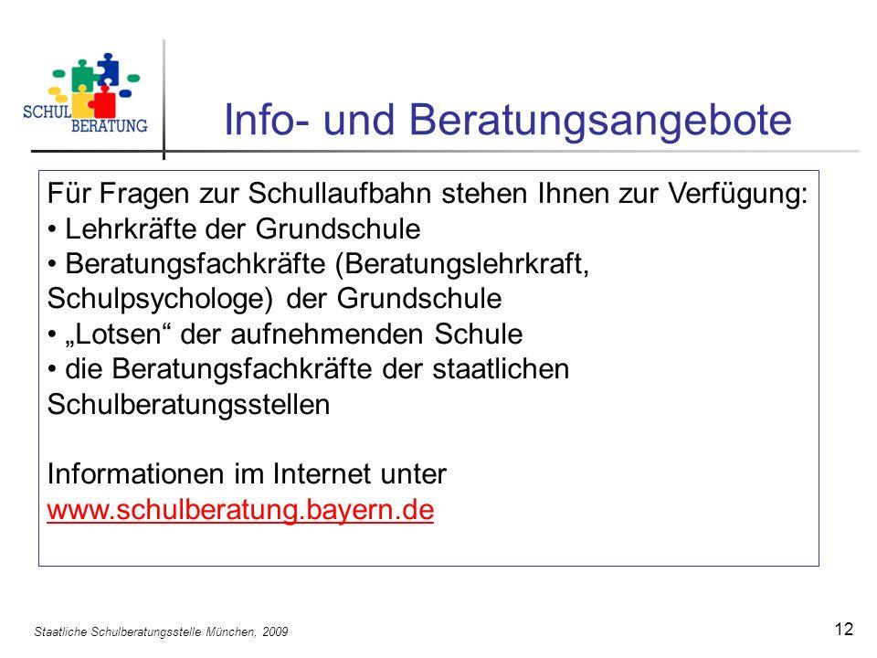Info- und Beratungsangebote
