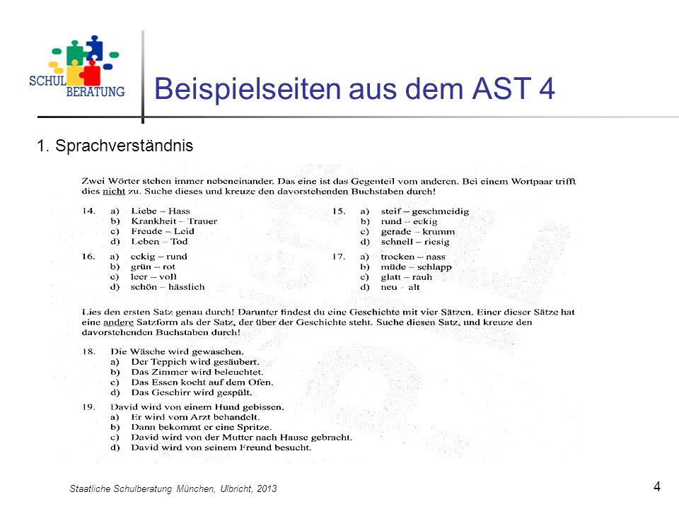 Beispielseiten aus dem AST 4