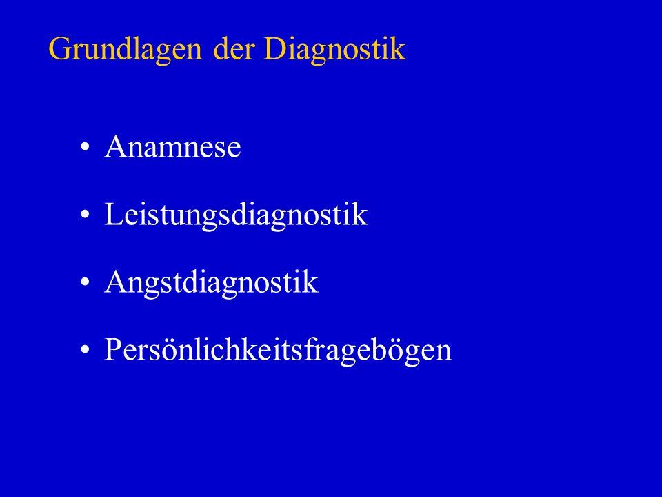 Grundlagen der Diagnostik