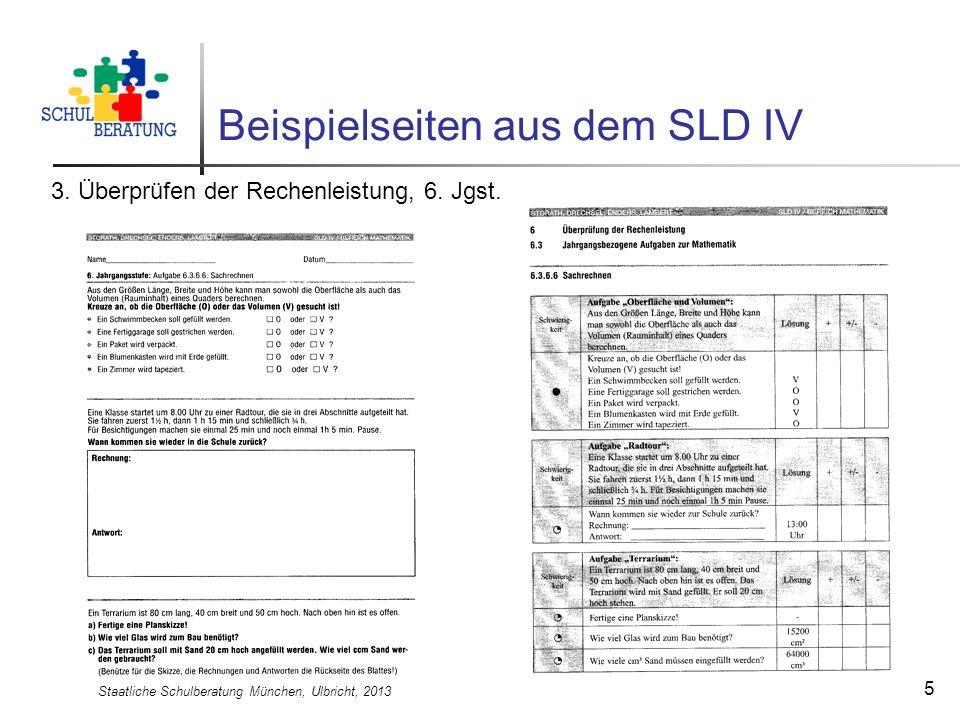 Beispielseiten aus dem SLD IV