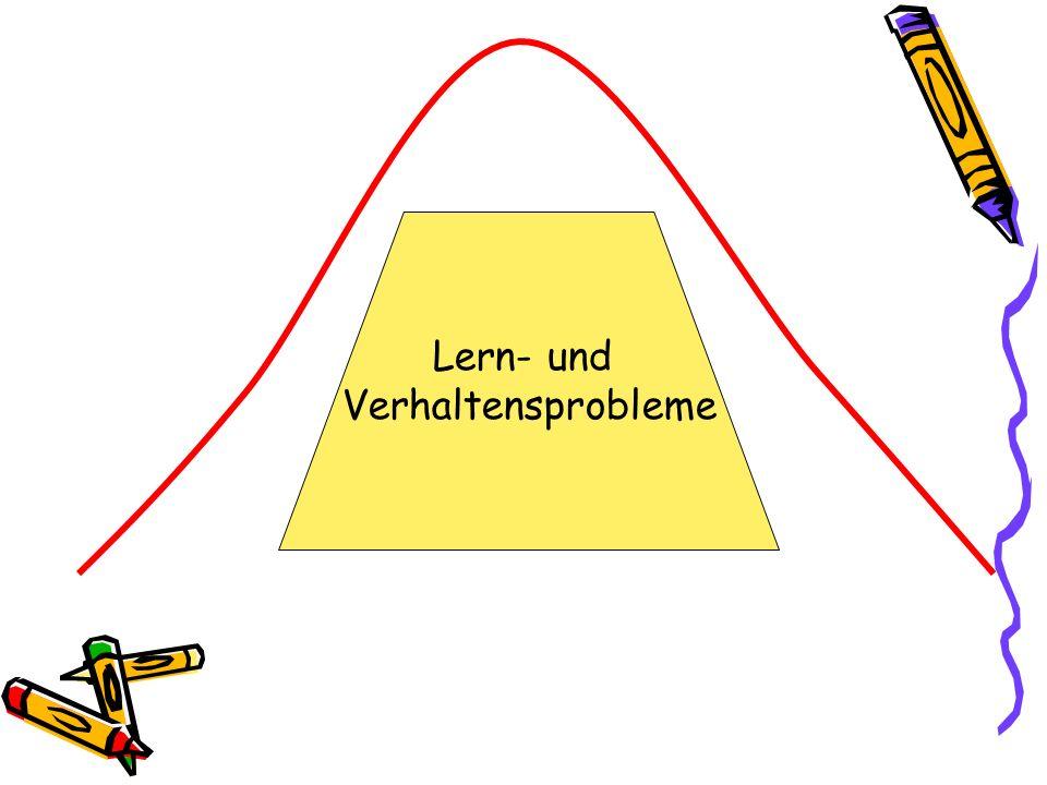 Lern- und Verhaltensprobleme