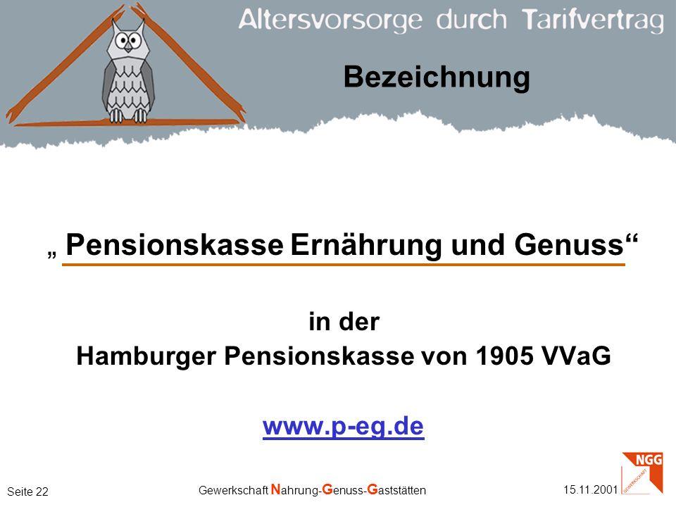 Hamburger Pensionskasse von 1905 VVaG