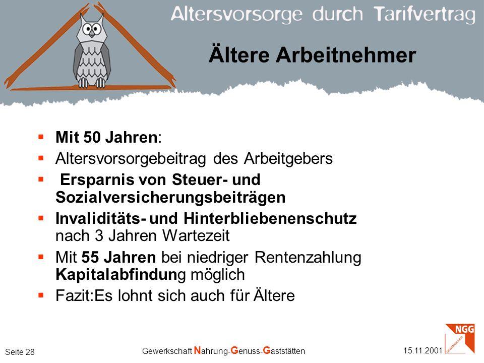 Ältere Arbeitnehmer Mit 50 Jahren: