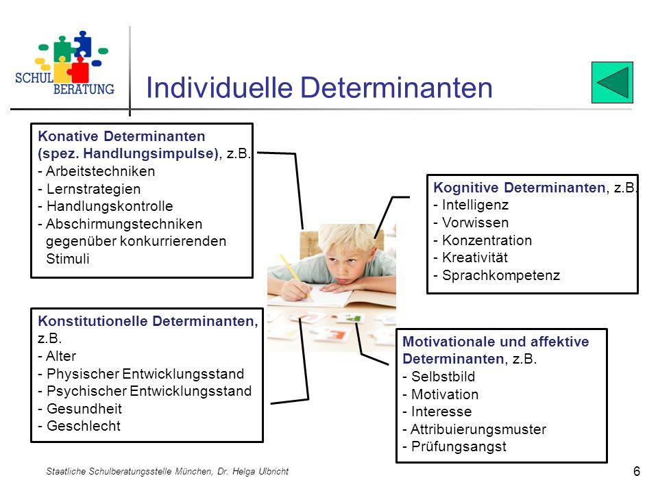 Individuelle Determinanten