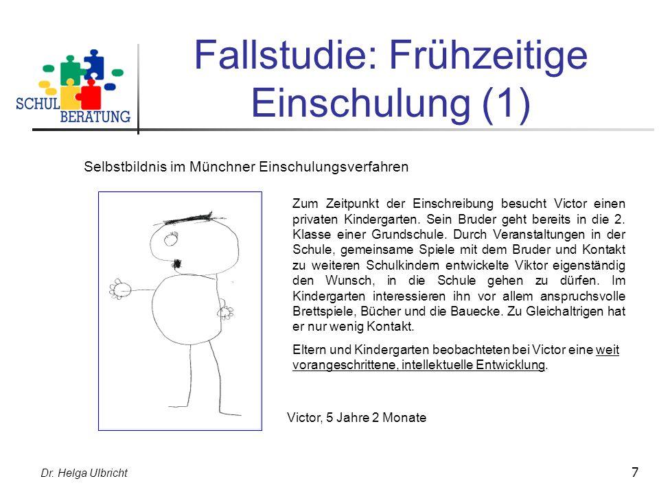 Fallstudie: Frühzeitige Einschulung (1)