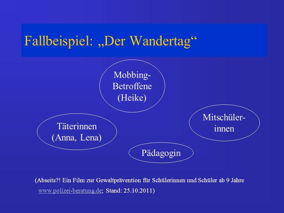 "Fallbeispiel: ""Der Wandertag"