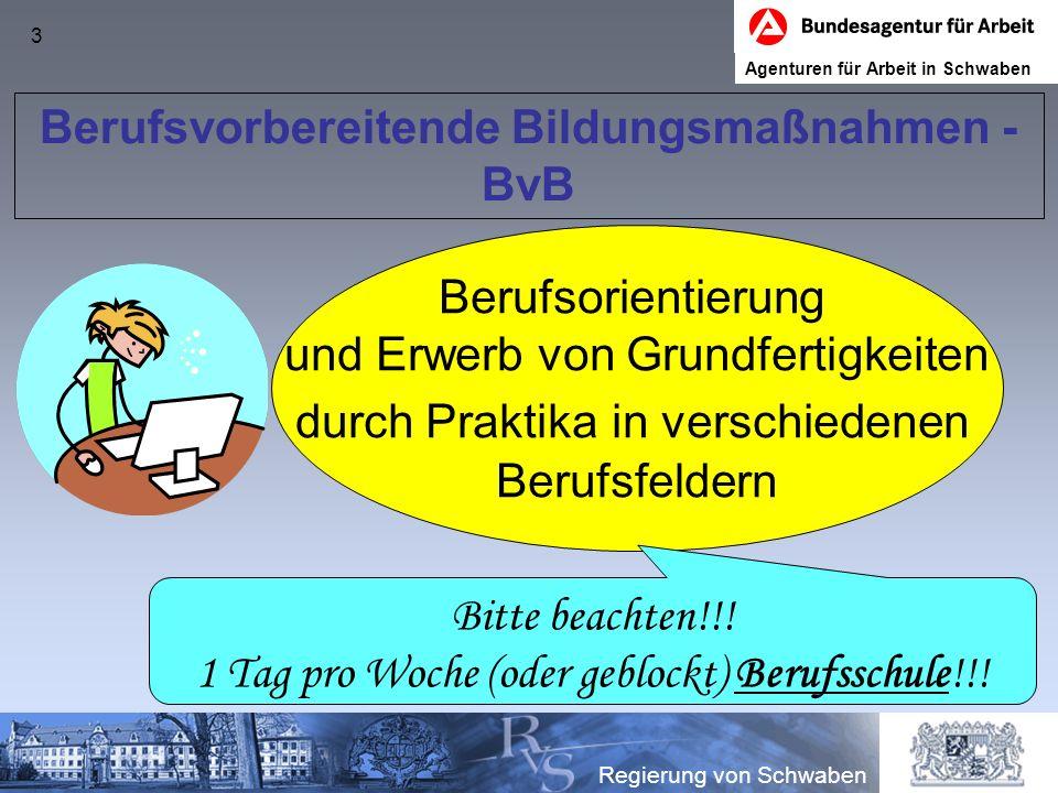 Berufsvorbereitende Bildungsmaßnahmen - BvB