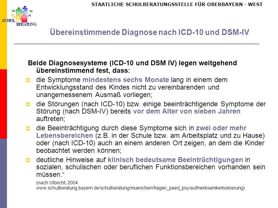Kernsymptom - Unaufmerksamkeit