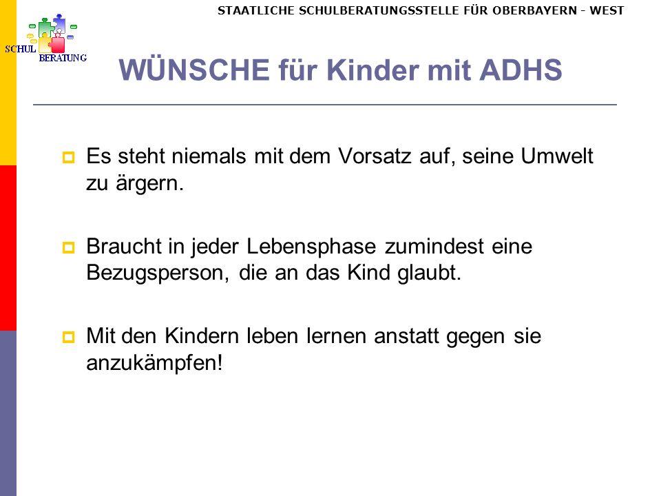 Schulische Maßnahmen – Signalkarten (nach Döpfner u.a., 1998)