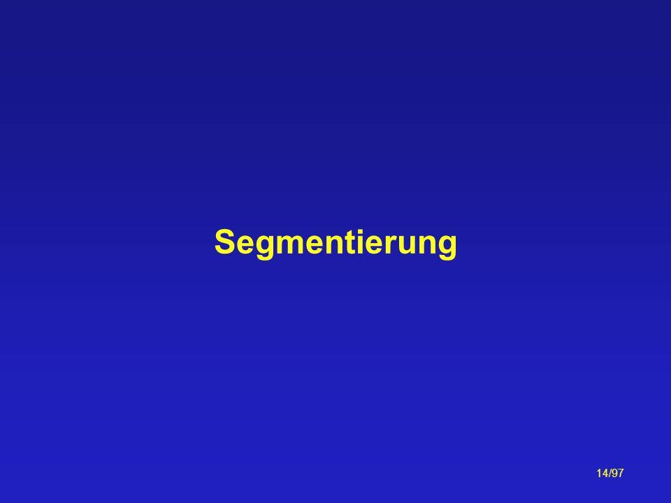 Segmentierung
