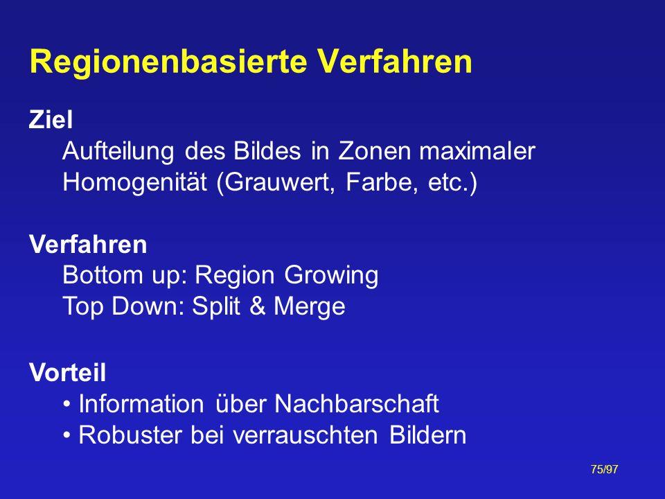 Regionenbasierte Verfahren