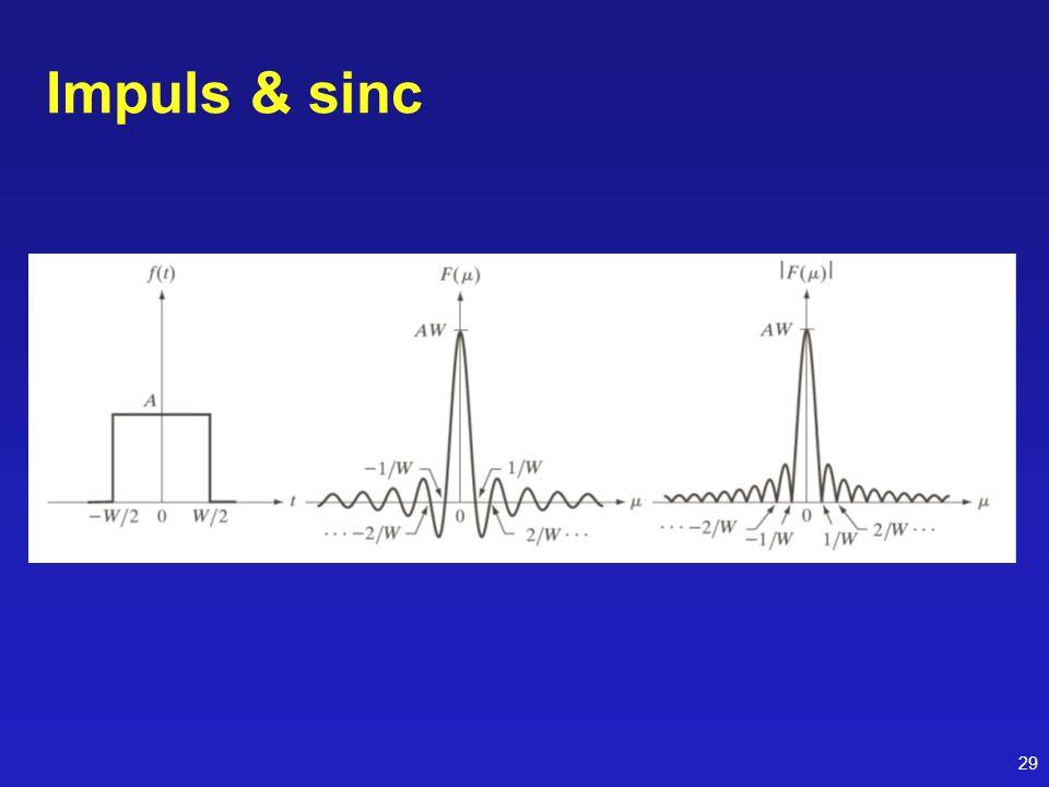 Impuls & sinc