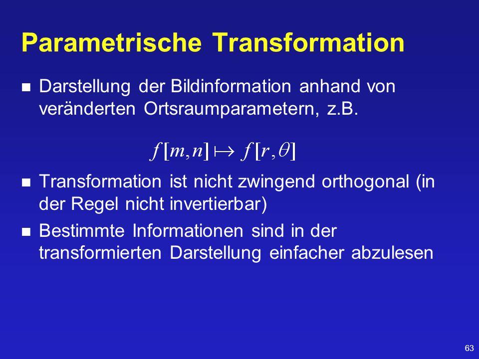 Parametrische Transformation