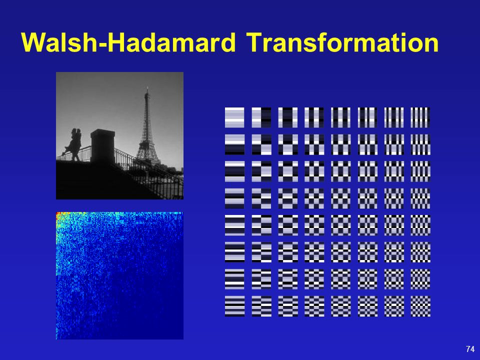 Walsh-Hadamard Transformation