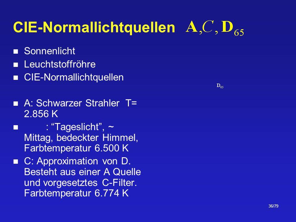 CIE-Normallichtquellen