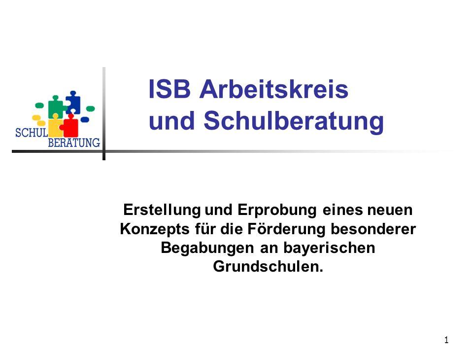 ISB Arbeitskreis und Schulberatung