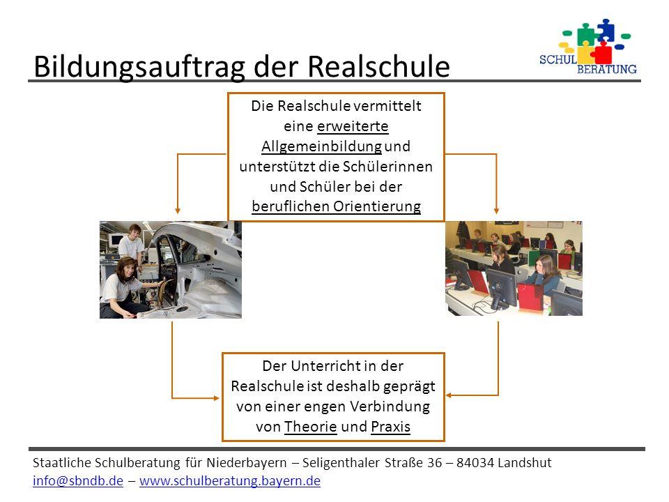 Bildungsauftrag der Realschule