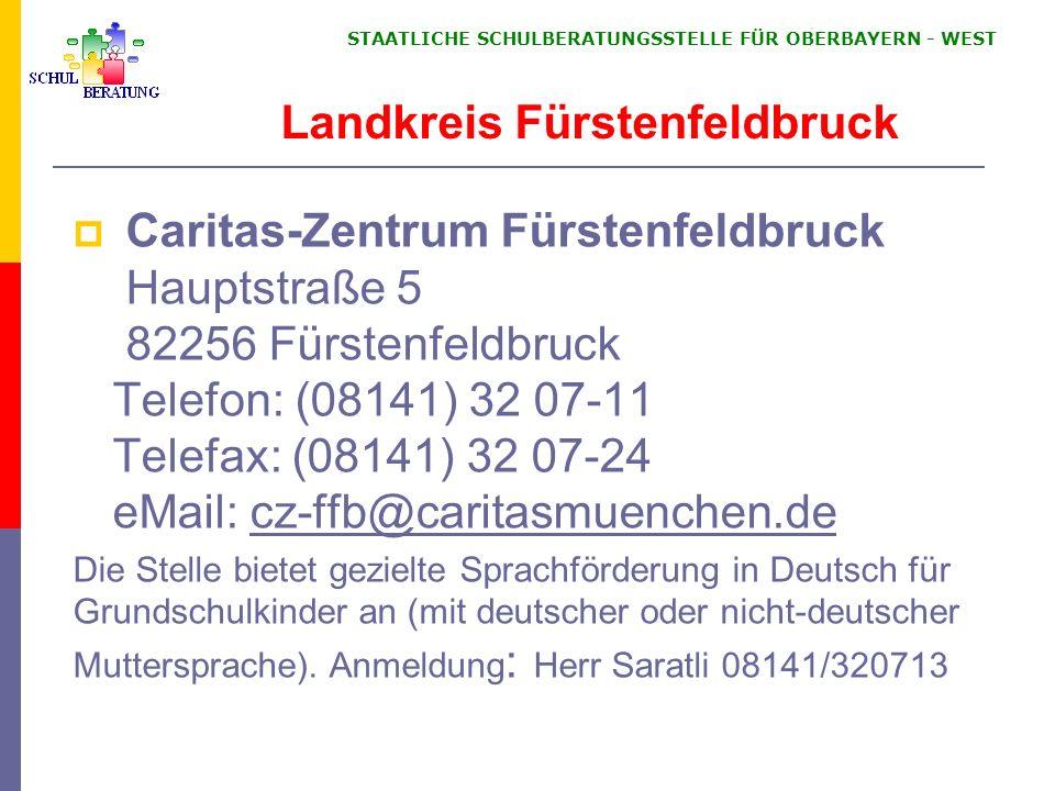 Landkreis Fürstenfeldbruck