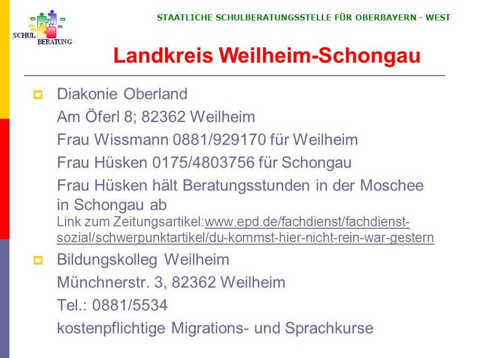 Landkreis Weilheim-Schongau