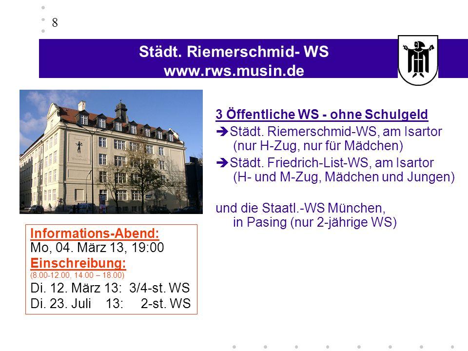 Städt. Riemerschmid- WS www.rws.musin.de