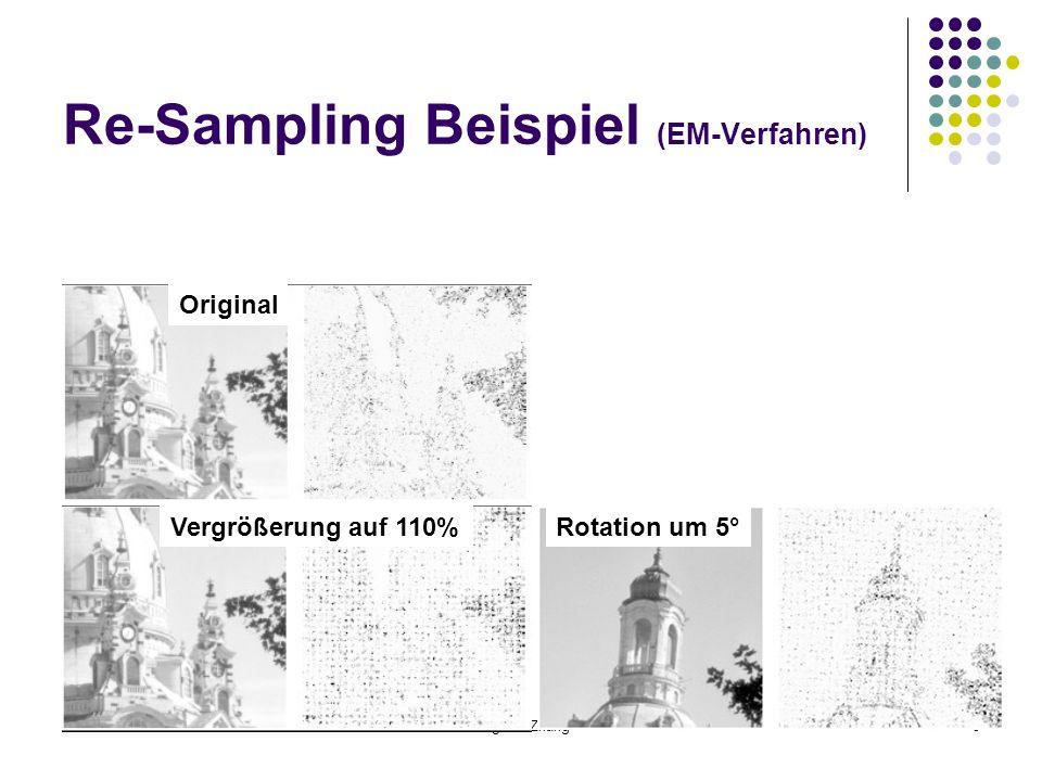Re-Sampling Beispiel (EM-Verfahren)
