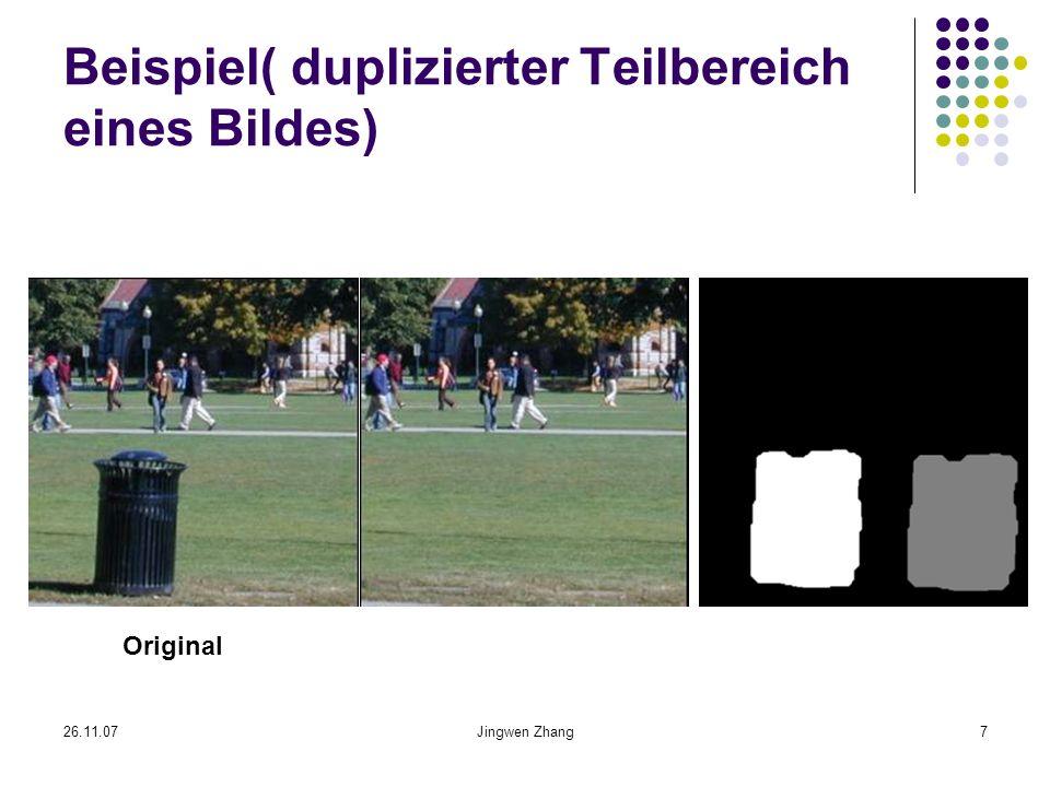 Beispiel( duplizierter Teilbereich eines Bildes)