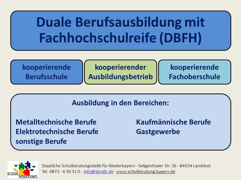 Duale Berufsausbildung mit Fachhochschulreife (DBFH)
