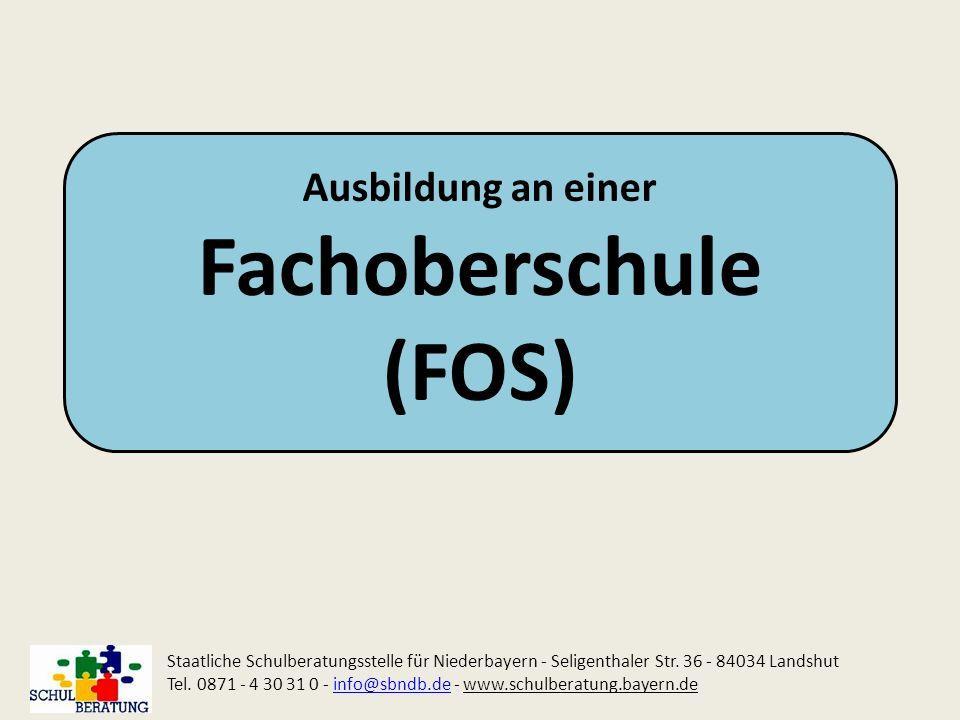 Fachoberschule (FOS) Ausbildung an einer
